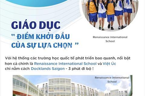 Căn hộ Docklands Sài Gòn thanh toán linh hoạt, nhận ngay nhà đã có sổ hồng