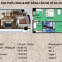 Bán suất ngoại giao chung cư Diamond Flower Tower Lê Văn Lương, nhận nhà ngay, 115m2