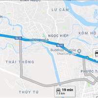 Đất đẹp vuông vắn, 70m2, sổ đỏ thổ cư, Vĩnh Hiệp thành phố Nha Trang, giá chốt ngay 900 triệu