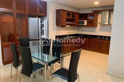 Cho thuê căn hộ Phú Nhuận Tower, 145m2, 3 phòng ngủ, 3wc, full nội thất, giá thuê 24 triệu/tháng