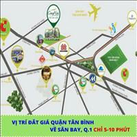 Căn hộ góc CĐT, liền kề sân bay Cộng Hòa Garden - giá tốt nhất 35tr/m2 - quỹ đất cuối của Tân Bình