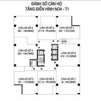 NO4B-T1 cần bán các căn hộ 704, 2104, 2304, 2604, 2605, 2708