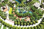 Mật độ dự án chỉ chiếm 60% tạo ra không gian thông thoáng, giãn cách phù hợp cho các lô biệt thự cũng như tạo điều kiện kết hợp hài hòa cho không gian cây xanh, biên bơi nhân tạo bao quanh dự án.