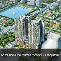 Bán lại căn 2 phòng ngủ 63.2m2 dự án 6th Element Nguyễn Văn Huyên, bàn giao full nội thất châu Âu