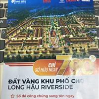 Dự án Long Hậu Riverside, khu đất tiềm năng, cơ hội cho các nhà đầu tư
