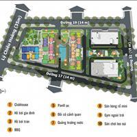 Bán lại 1 căn dự án The Western Capital tháp B3, giá 1,85 tỷ, 66m2 view sân vườn