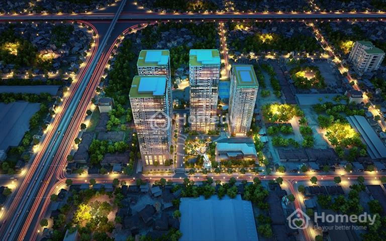 Cho thuê các căn hộ 2 - 3 phòng ngủ, giá 9 triệu tại GoldSeason 47 Nguyễn Tuân, Thanh Xuân, Hà Nội