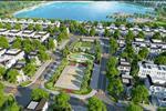 Dự án được xây dựng theo cơ cấu nhà chung cư cao tầnggiá rẻ, nhà liền kề và shophouse.
