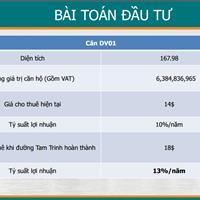Cơ hội đầu tư kiot thương mại Tam Trinh lãi 13%/năm