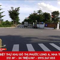 Chỉ với 34 triệu/m2 - chốt nhanh kẻo lỡ đất xây biệt thự vị trí vàng tại khu đô thị Phước Long A