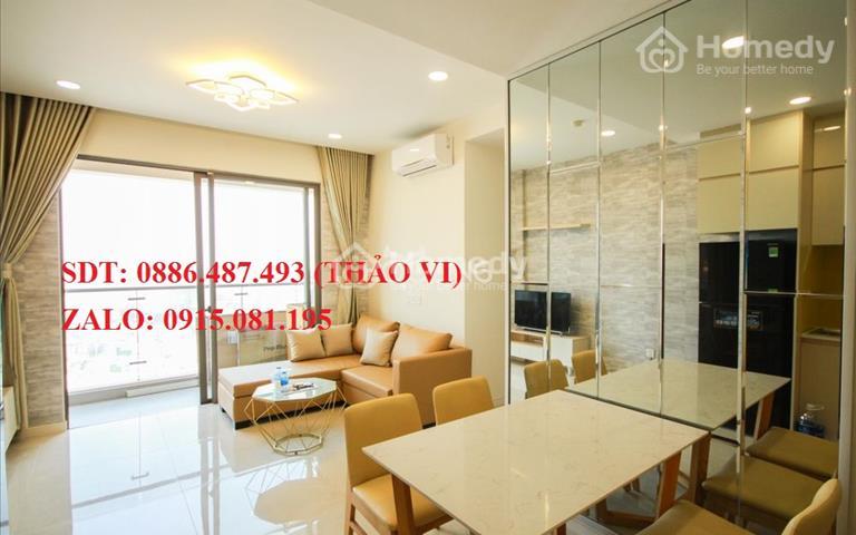 Cho thuê căn hộ 3PN, diện tích 107/m2 - FULL nội thất - view quận 1 Bitexco, quận 7....
