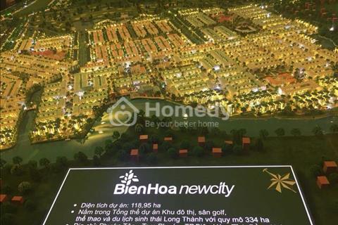 Đất nền khu đô thị mới Biên Hòa New City, giá 10 - 13 triệu/m2, cách sân bay Long Thành 20 phút