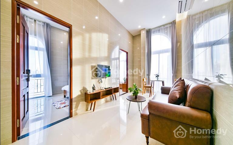 Cho thuê căn hộ quận Phú Nhuận, xây mới, hiện đại, full nội thất, dịch vụ vệ sinh hàng tuần