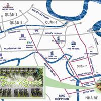 Đất nền sổ đỏ dự án Green Riverside mặt tiền Huỳnh Tấn Phát, Nhà Bè