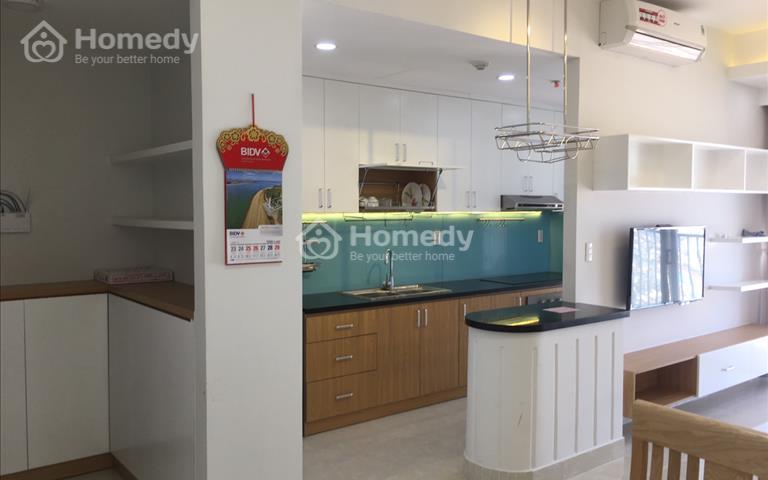 Cho thuê và chuyển nhượng căn hộ chung cư Lucky Palace 2 phòng ngủ full nội thất giá 14 triệu/tháng