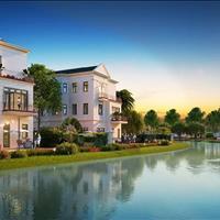 Còn duy nhất căn biệt thự song lập view hướng ra hồ, được xem như hoa hậu của tiểu khu Hoa Hồng