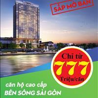 Căn hộ 3 mặt sông Sài Gòn, ngay cầu Phú Long Quận 12, góp 0% lãi suất, thanh toán chỉ 200 triệu