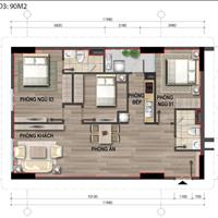 Chúng tôi phân phối căn 2 phòng ngủ và 3 phòng ngủ tòa HH chung cư 43 Phạm Văn Đồng