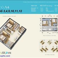 Cần tiền gấp bán căn hộ Green Stars giá 1.7 tỷ không thể rẻ hơn