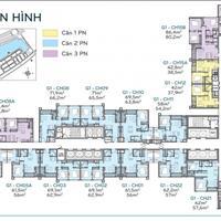 Chủ nhà cần bán gấp chung cư Green Bay, căn góc tầng 1217 (86m2), 1215B(107m2), 47 tr/m2, bán gấp
