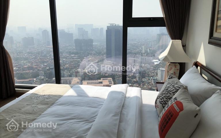 Cho thuê căn hộ Metropolis 29 Liễu Giai siêu cao cấp 3 phòng ngủ full đồ xịn giá hợp lý