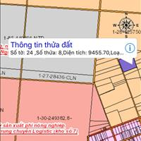 Chính chủ bán lô đất sau Ủy ban Tân Hiệp, Long Thành, đất đẹp, cao ráo đối diện khu vui chơi 9500m2