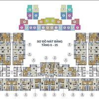 Bán cắt lỗ chung cư GoldSilk Complex Vạn Phúc, căn 1209-J, diện tích 72.96m2, 2 phòng ngủ, 1.6 tỷ