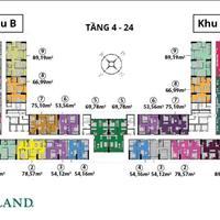 Chính chủ cần bán chung cư Anland Complex Nam Cường, căn 1811-B, 74.87m2, 3 phòng ngủ, 1.8 tỷ