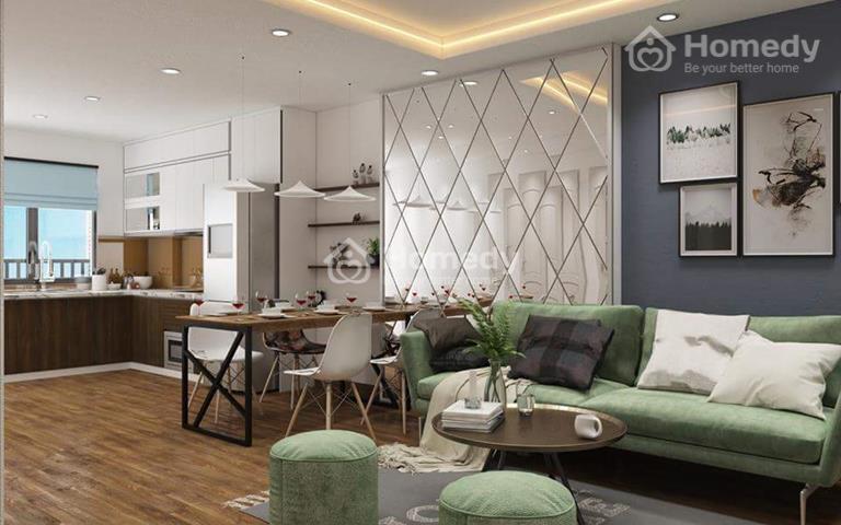 Cho thuê chung cư The Vesta ở ngay căn 57m2 có tủ bếp, giá 4 triệu/tháng
