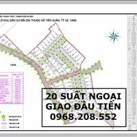 Hot, mở bán dự án đất nền Hola Town 2 trung tâm Hòa Lạc – 20 lô ngoại giao đẹp, giá rẻ đầu tiên