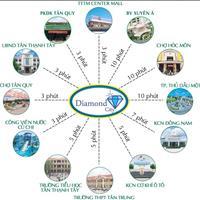 Bán đất nền dự án Diamond City Củ Chi GĐ 1, ngân hàng hỗ trợ 50% không lãi suất