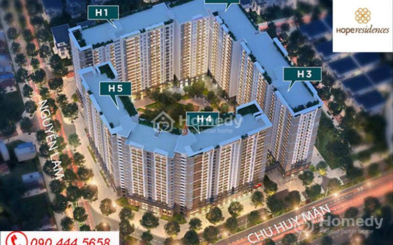 Tiếp nhận và tư vấn hồ sơ dự án Hope Residence Phúc Đồng giá chỉ 16 triệu/m2
