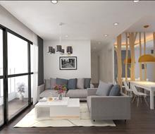 Thiết kế nội thất căn hộ Golden West
