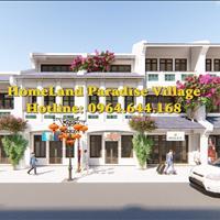 Thư mời tham dự lễ tri ân khách hàng dự án Homeland Paradise Villa