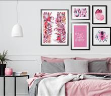Tranh Canvas trang trí phòng ngủ