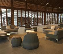 Bàn ghế mây nhựa - giường bể bơi tại PackCity Hà Nội