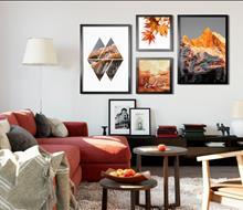 Tranh Canvas trang trí phòng khách