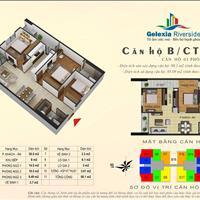 Bán căn hộ hot 85m2, 3 phòng ngủ giá 1,8 tỷ tại tòa CT2A dự án Gelexia 885 Tam Trinh