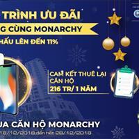 10 ngày vàng cùng Monarchy Đà Nẵng, đặt mua nhận ngay Iphone XR, chiết khấu 11%