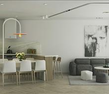 Căn hộ chung cư Tây Hồ phong cách hiện đại