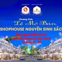 Có gì hot trong tuần này - Ra mắt dự án Shophouse Nguyễn Sinh Sắc 23/12/2018