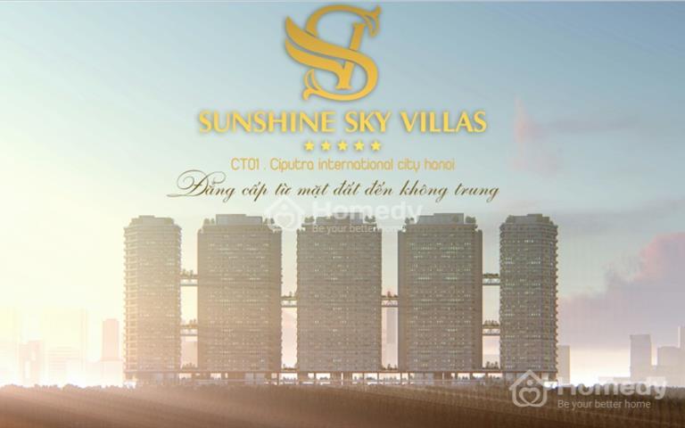 Sunshine Crystal River – Biệt thự trên không đẳng cấp đầu tiên tại Hà Nội