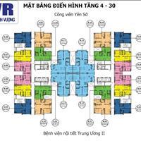 Bán gấp căn hộ chung cư Tứ Hiệp Plaza, diện tích 60,75m2, tầng 15 căn 07, giá 1,1 tỷ