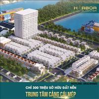 Đất nền đầu tư Harbor Center trung tâm xã Phú Mỹ, giá từ 9tr/m2, SHR từng nền, cam kết sinh lời 25%