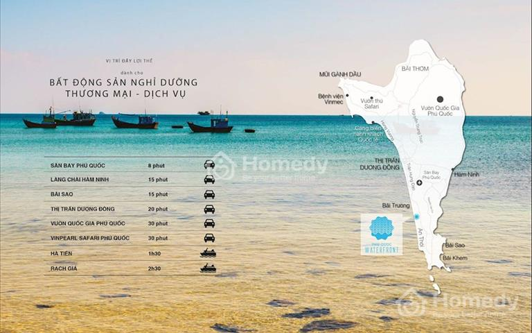 Cần tiền bán gấp Shophouse mặt biển 14 PN, liền kề khách sạn 5 sao InterContinental Phú Quốc