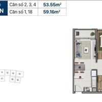 Căn hộ Saigon Royal Residence 1 phòng ngủ và 1 phòng chức năng cần bán nhanh giá tốt