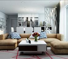 Thiết kế căn hộ phong cách hiện đại