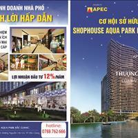 Bán suất ngoại giao Shophouse Apec Aqua Park Bắc Giang