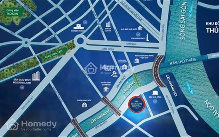 Officetel Saigon Royal - Main tower - Brand new for rent