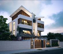 Biệt thự phong cách hiện đại ở Hà Tĩnh